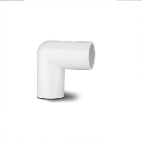 90° BEND PLASTIC 3/4 – 22MM (WHITE)
