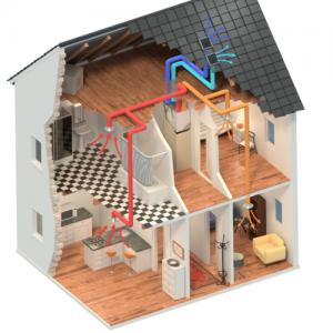 MVHR House Install